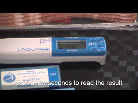 HORIBA B-712 pH meter - Food testing