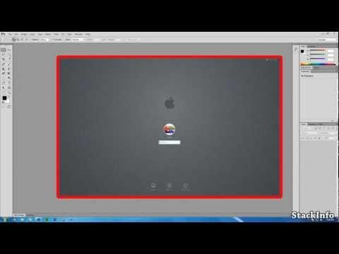 How to create a Mac OS X Login Screen like background