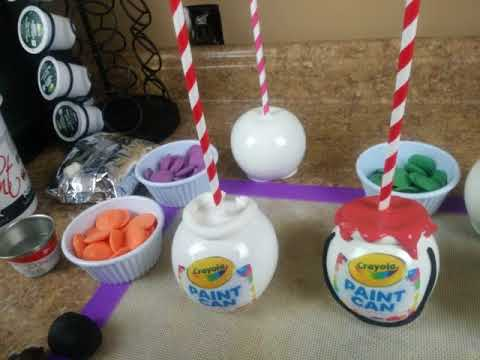 PAINT CAN CANDY APPLES pt 1