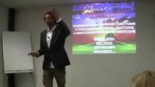 Lezione di Entusiasmologia tenuta da Fabio Marchesi il 16 Aprile 2014