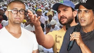 Akshay Kumar & Saif Ali Khan REACTS On Sonu Nigam