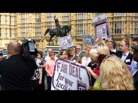 Fair Deal For Your Local rally at Parliament 05.06.2013
