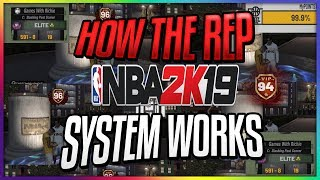 NBA 2K19   MyPARK REP SYSTEM DONE BETTER      IT'S TIME TO