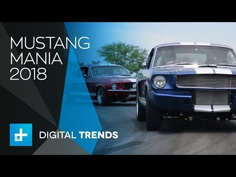 Mustang Mania 2018 - Every Generation of Mustang Ever Built