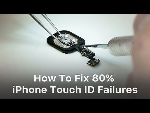 How to Restore Touch ID of iPhone Due to Home Button Flex Broken?