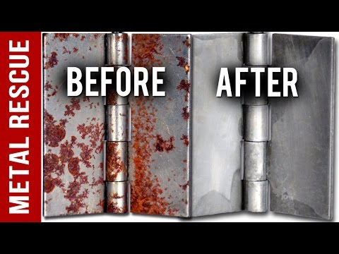 How To Remove Rust From Metal Door Hinges in 3 Easy Steps