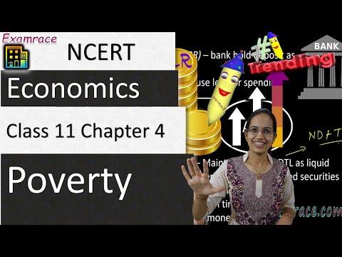 NCERT Class 11 Economics Chapter 4: Poverty