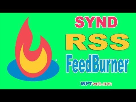 Syndicating Your RSS Feed URL With Feedburner - WordPress Tutorial 16