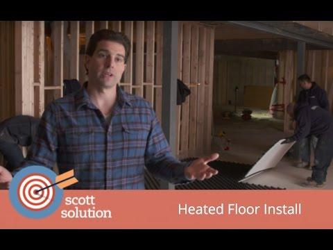 Scott Solution - Uponor In-Floor Heating