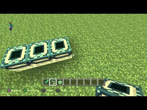 Minecraft PS4 PS3 how to make a End portal