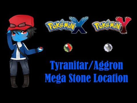 Pokemon X and Y: Where the Mega Stone for Tyranitar/Aggron are located (Version Exclusives)