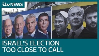 Benny Gantz And Benjamin Netanyahu Neck And Neck In Israel Election   Itv News