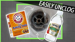 How To Easily Unclog A Drain Without Harsh Chemicals Baking Soda Vine