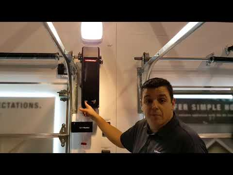 8500W DC Battery Backup Wall-Mount Garage Door Opener