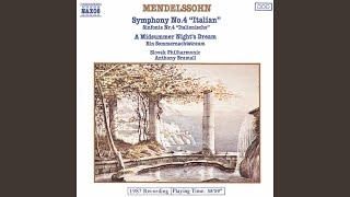 A Midsummer Nights Dream Op 61 Mwv M 13 Act Iii Nocturne