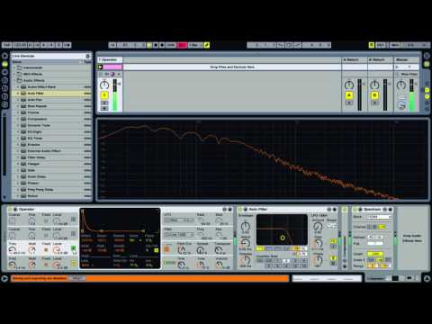 Synthesize a Deep Kick Drum in Ableton Live
