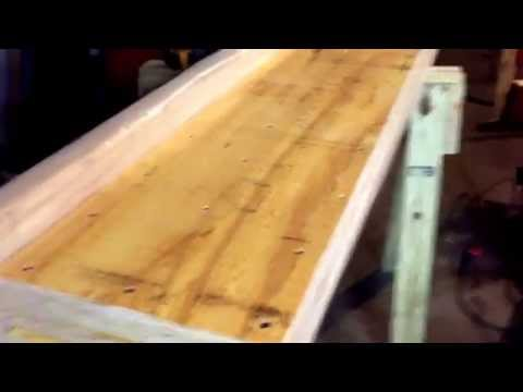 Removing and supporting a load bearing wall with a hidden beam - Part 1