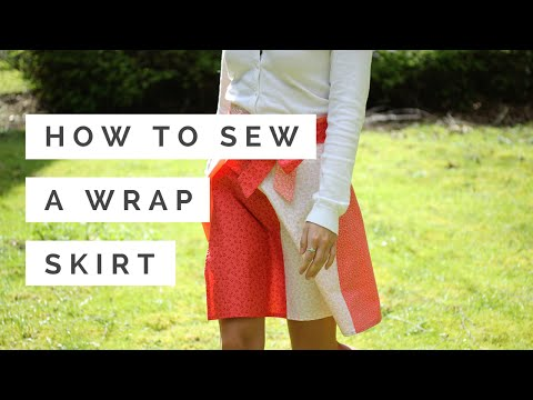 How to Sew a Wrap Skirt | Hobbycraft