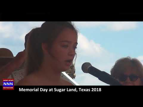 MEMORIAL DAY CEREMONY AT SUGAR LAND TX BY NIK NIKAM FOR NNN