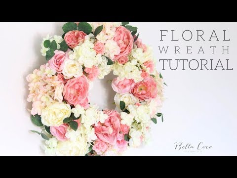 Floral Wreath Tutorial | Bella Coco