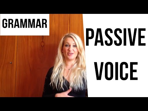 Passive Voice Crystal Clear! - english video