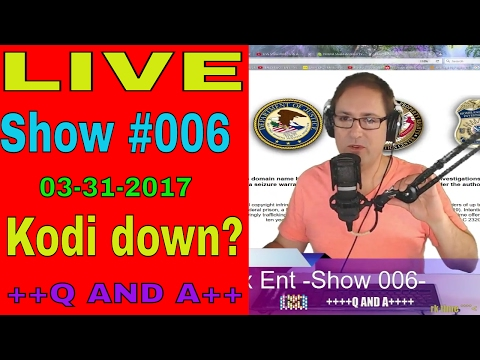 🔴 Show #006 -Q & A- Kodi down? Current status and outage history