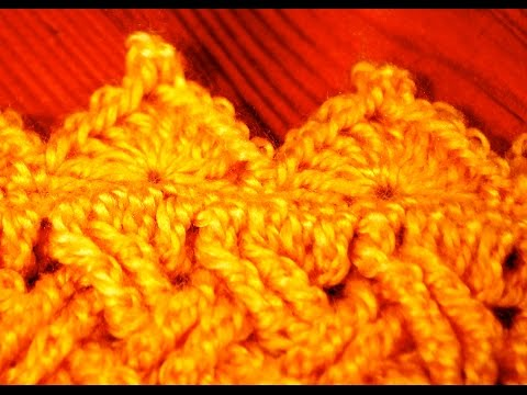 Shell Stitch with Picot