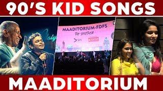 FULL HD LIVE PERFORMANCE 90's kid SongS |MAADITORIUM  |C5D