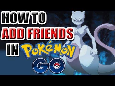 How to Add Friends in Pokemon Go