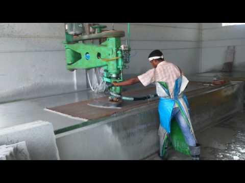 Flooring Granite polishing process