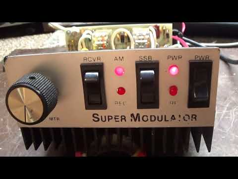 2 Pill Super Modulator mobile linear amplfier Variable power