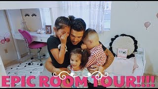 WE SURPRISE THE KIDS WITH A BEDROOM MAKEOVER... LOFTS INCLUDED!!! (They