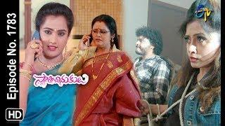 Swathi Chinukulu | 20th May 2019 | Full Episode No 1783 | ETV Telugu
