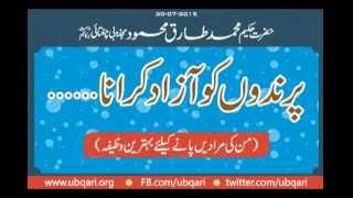 Parindo Ko Azad Karana Hakeem Tariq Mehmmod Ubqari