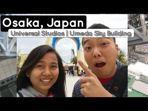 Travel Vlog #5: Osaka, Japan | Universal Studios Japan | Umeda Sky Building