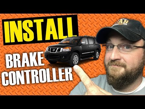 How To Install Brake Controller on Nissan Armada | Tekonsha 90160 Primus IQ