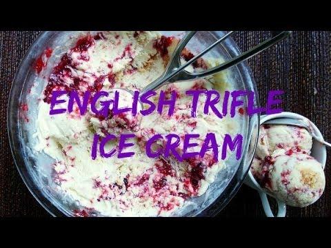 How to Make English Trifle Ice Cream