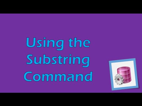 PL/SQL Tutorial 4 (Oracle): Substring Command