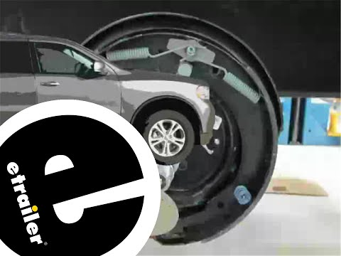 Installation of the Dexter Electric Trailer Brake Assembly - etrailer.com