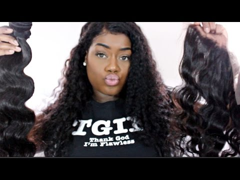 BOSSXTEND Brazilian Body Wave Hair | Unboxing & Bloopers!!