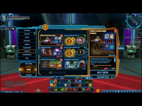SWTOR: Cartel Coins and Easy Trick to get More if You're Poor