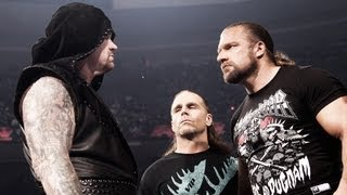 Undertaker, Triple H and Shawn Michaels face off about