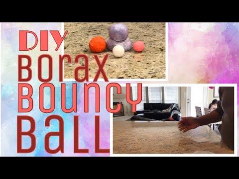 DIY - Borax Bouncy Balls