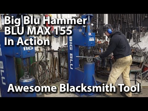 Awesome Big Blu Hammer for Blacksmiths - Very Cool