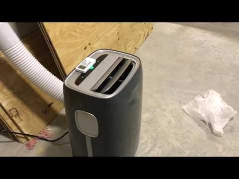 Frigidare 14,000 BTU portable air conditioner review with smart home walk through