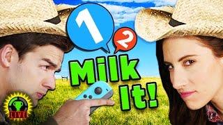 MILK ME DAMMIT! | 1 2 Switch Gameplay