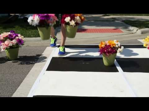 South Chicago Heights: pop-up complete streets event -- time lapse version