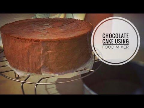 Chocolate Cake Recipe using Stand mixer!!