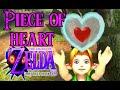 Legend of Zelda: Majora's Mask 3D Piece of Heart ...