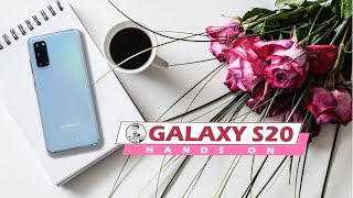 Samsung Galaxy S20 Hands On - India Gets Exynos 990 & Lower Price!